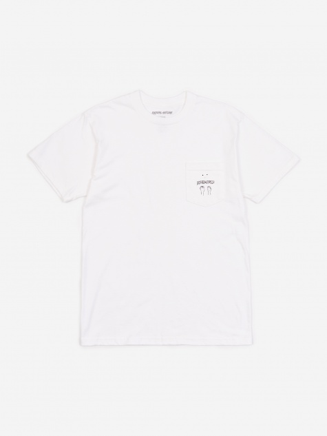 Fists Pocket T-Shirt - White
