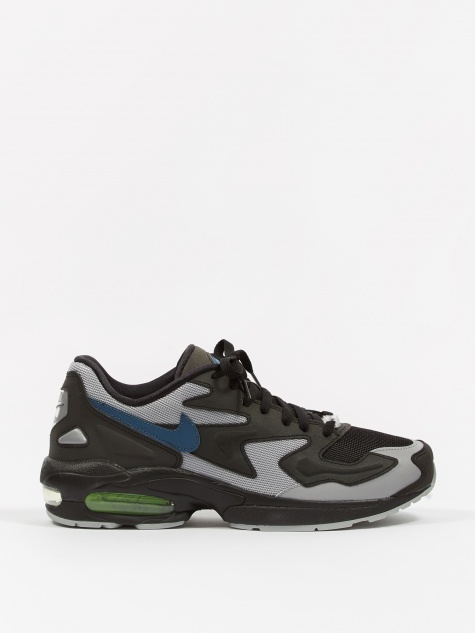 newest 50a14 c48a1 Air Max 2 Light - Black Thunderstorm-Wolf Grey-Volt