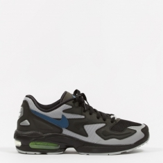 Nike Air Max 2 Light - Black/Thunderstorm-Wolf Grey-Volt
