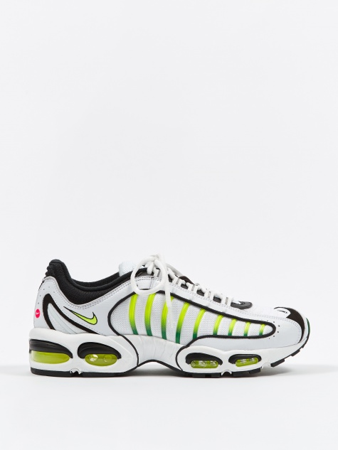 Air Max Tailwind IV - White/Black-Aloe Verde
