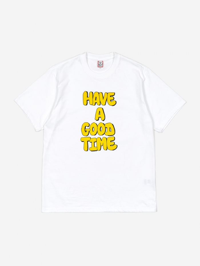 Have A Good Time Bubble T-Shirt - White (Image 1)