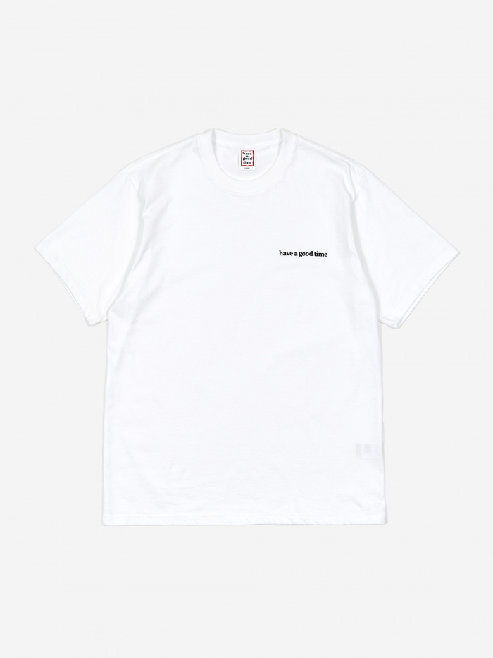 Have A Good Time Side Logo T-Shirt - White (Image 1)