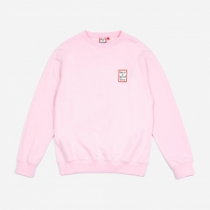 Have A Good Time Mini Frame Crewneck Sweatshirt - Pink