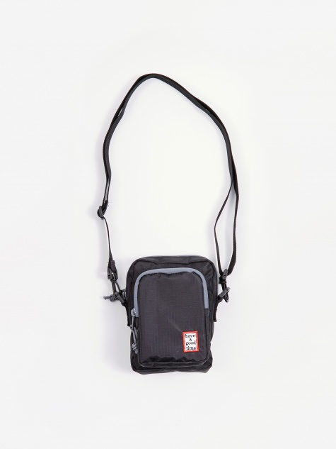 Mini Frame Small Shoulder Bag - Black