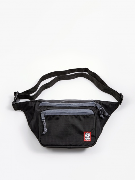 Frame Waist Bag - Black