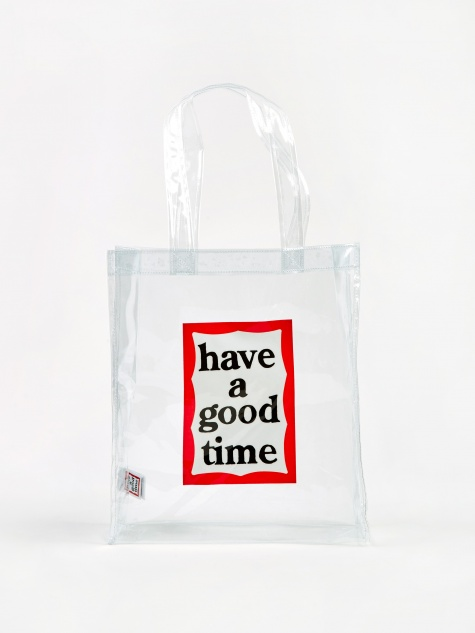 PVC Frame Tote Bag - Clear
