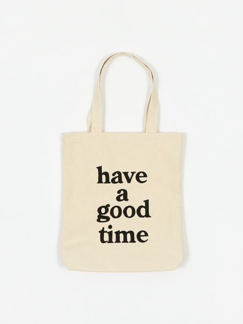 Logo Tote Bag - Natural