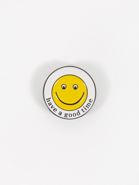 Have A Good Smile Pin