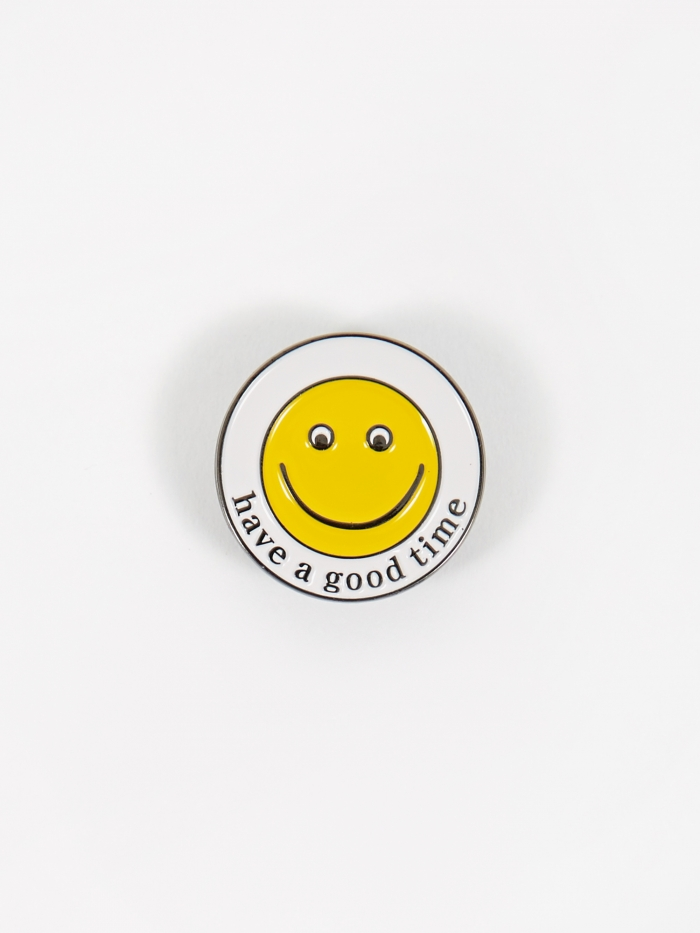 Have A Good Time Have A Good Smile Pin (Image 1)