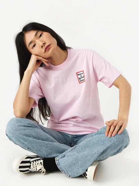 Mini Frame T-Shirt - Pink