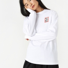 Have A Good Time Mini Frame Longsleeve T-Shirt - White