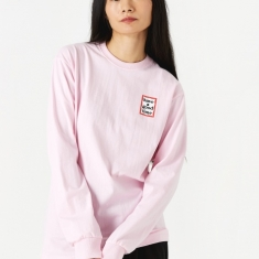 Have A Good Time Mini Frame Longsleeve T-Shirt - Pink