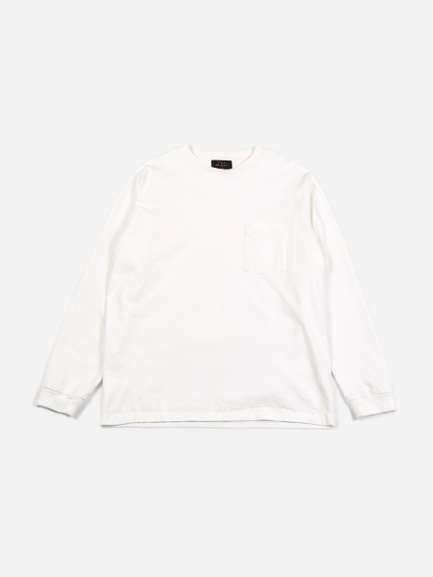 40/2 Pocket T-Shirt - White