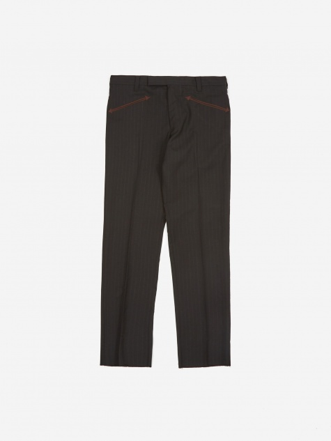 Western Trouser (Type-3) - Black