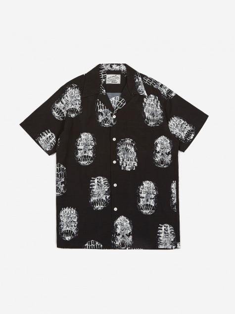 x Neckface Short Sleeve Hawaiian Shirt (Type-1) - Bl