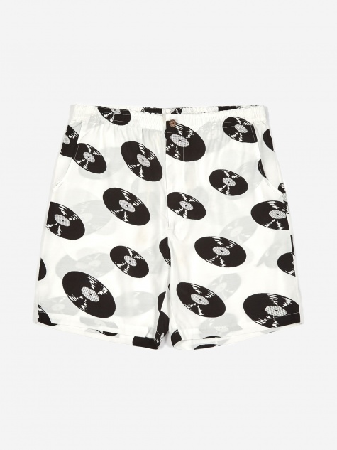 Hawaiian Shorts (Type-1) - White