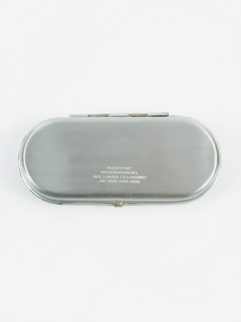 Glasses Case - Silver