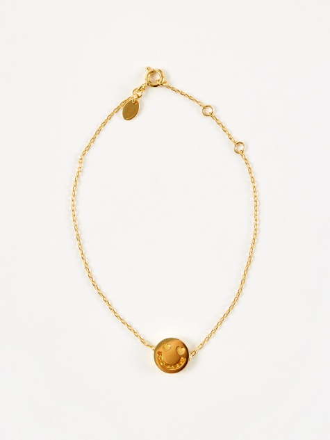 Friends Smitten Chain Bracelet - 18ct Yellow Gold