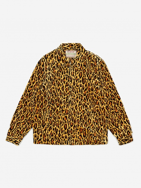 Velour Drizzler Jacket (Type-1) - Leopard