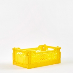 Hay Colour Crate Small - Yellow