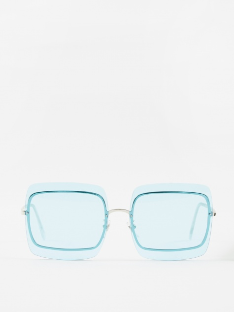 Gia Sunglasses - Baby Blue Bliss