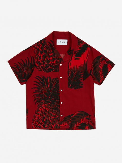 Fresh Short Sleeve Shirt - Burgundy