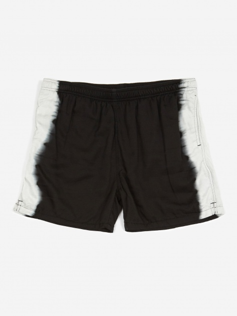 Tie-Dye Line Short - Black/White