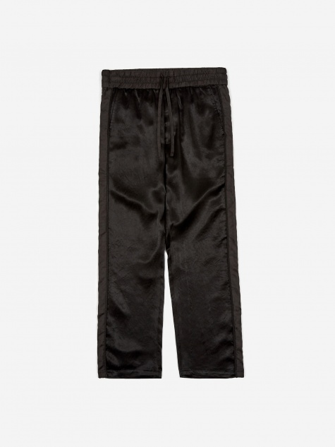 Satin Pants - Black