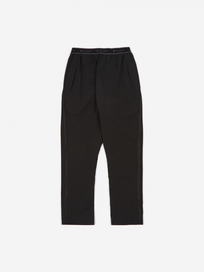 Snow Peak DWR Seamless Trouser - Black (Image 1)