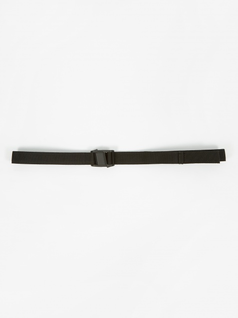 Plastic Buckle Belt - Black
