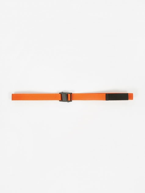 Plastic Buckle Belt - Orange