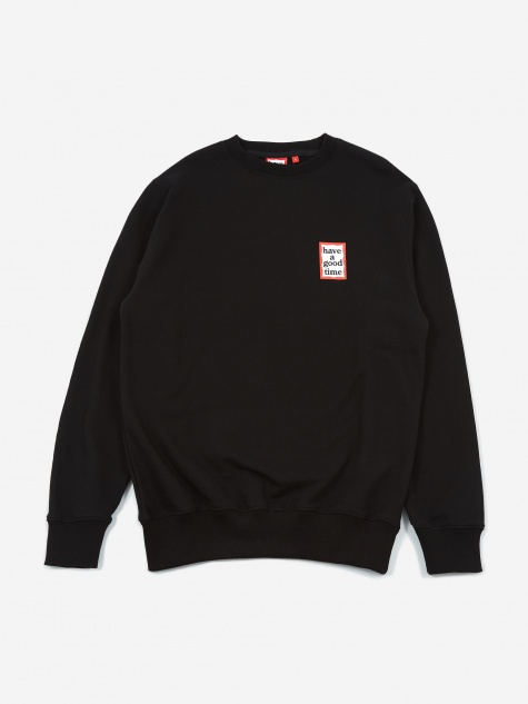 Mini Frame Sweatshirt - Black