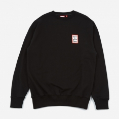 Have A Good Time Mini Frame Sweatshirt - Black