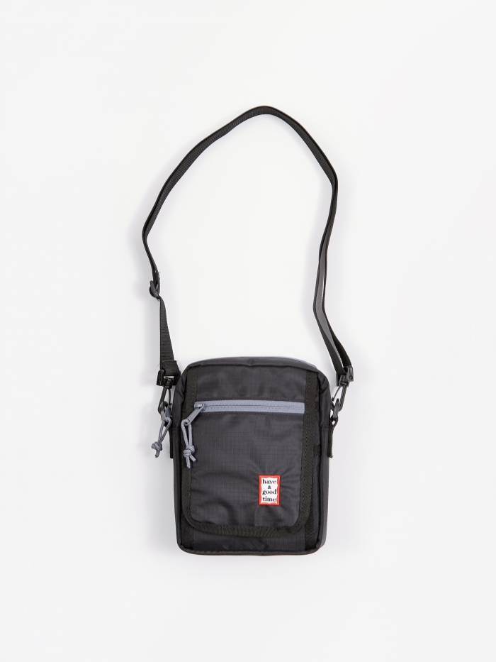 Have A Good Time Frame Shoulder Bag - Black (Image 1)