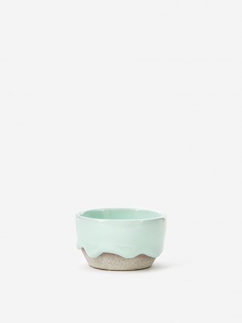 Mint / Ash Pinch Bowl