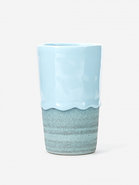 Powder / Denim Tapered Tumbler