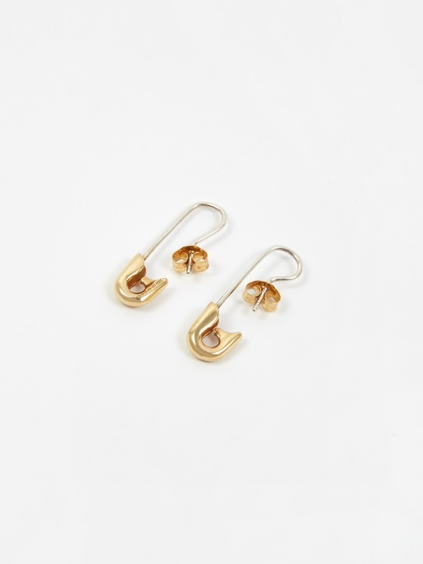 Small Drops Earrings - Silver/Gold