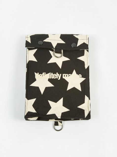 EST Bag - Black/Natural Star Print
