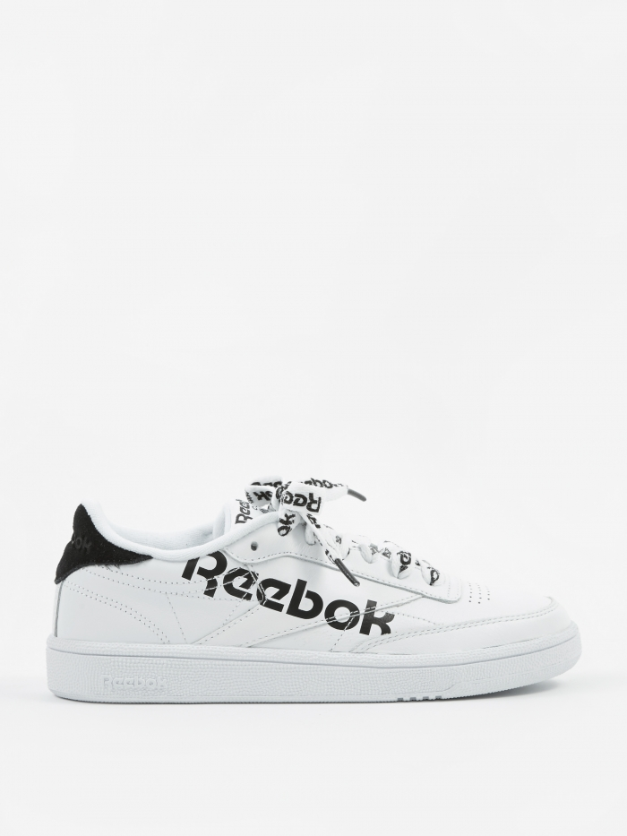 Reebok Club C 85 - Sneaker Head-White/Black (Image 1)