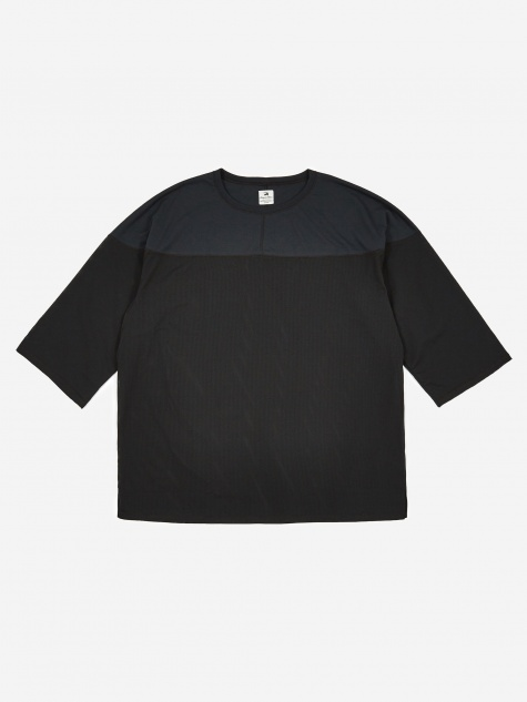 Sasquatchfabrix Football Mesh T-Shirt - Black