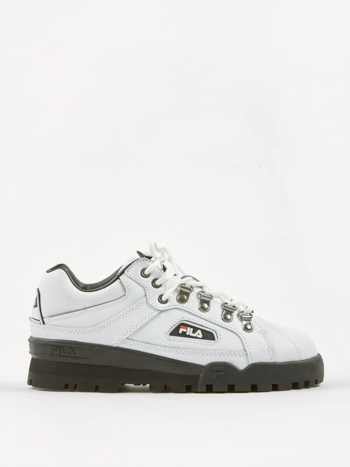 FILA Trailblazer - White/Black/Black (Image 1)