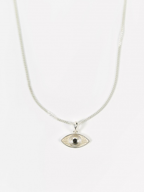 Rays Of Light Pendant - Sterling Silver/Black O