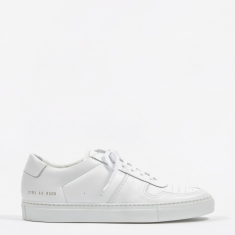 Common Projects Bball Low - White
