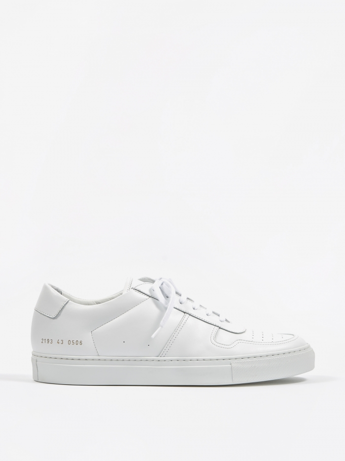Common Projects Bball Low - White (Image 1)
