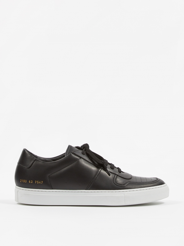 Common Projects Bball Low - Black (Image 1)
