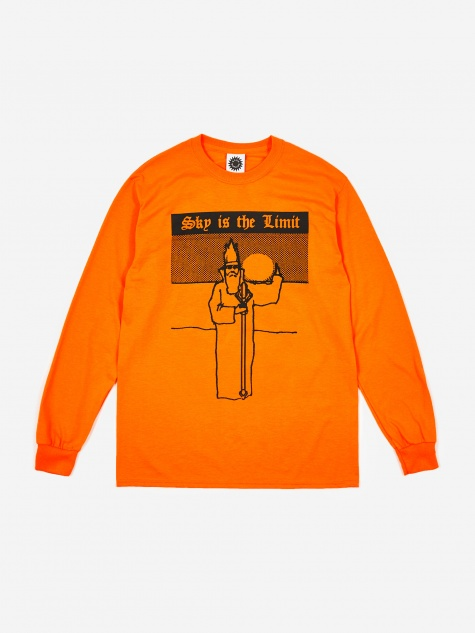 Sky Is The Limit Longsleeve - Orange