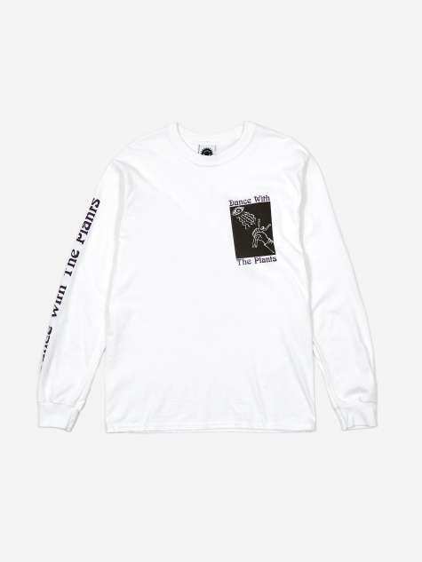 Dance With Plants Longsleeve - White