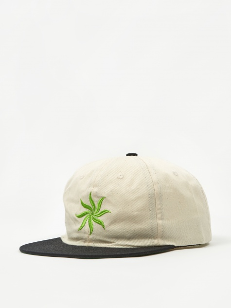 Sun Logo Cap - Natural