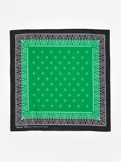 Bandana - Black/Green