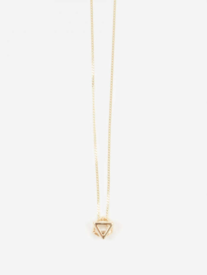 Rachel Entwistle Octa Mini Pendant - 9ct Yellow Gold (Image 1)